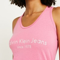 Calvin Klein Jeans Pink Vest | Urban Outfitters