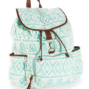 Aeropostale  Crochet Backpack