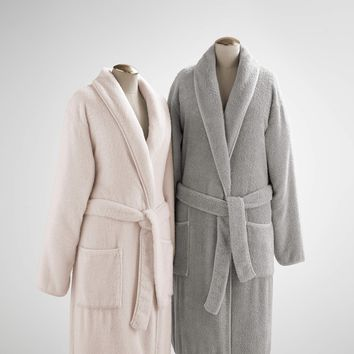 Vintage Luxe Garment Washed Robe