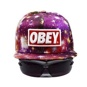onetow One-nice? Perfect Obey Giant Women Men Sports Sun Hat Hip Hop Embroidery Baseball Cap Hat