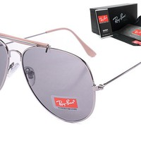 Ray-Ban sunglass AA Classic Aviator Sunglasses, Polarized, 100% UV protection [2974244898]