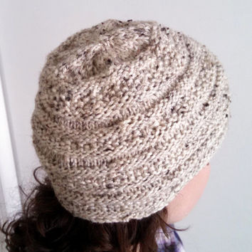 Textured Knit Hat, Women and Teen Accessory,
