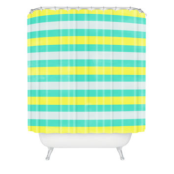 Allyson Johnson Bright Stripes Shower Curtain