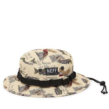 Neff Prey Boonie Bucket Hat - Mens Backpack - Brown - One