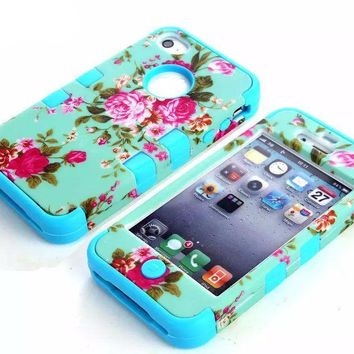 Floral Case Chic IPhone 4 Cover
