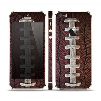 The Football Laced Skin Set for the Apple iPhone 5s