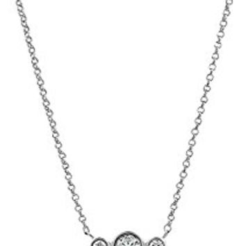 kate spade new york Round Linear Mini Pendant Necklace