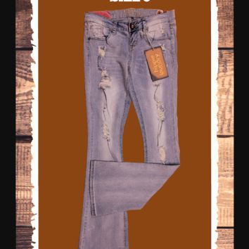 Hippie Laundry flared jeans so cute - size 3