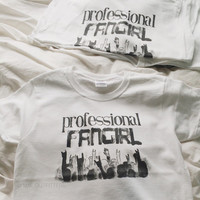 Professional Fangirl T-Shirt  © Design by Wikearts