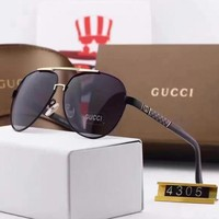 Gucci Woman Fashion Summer Sun Shades Eyeglasses Glasses Sunglasses-79