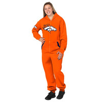 Denver Broncos Adult One Piece KLEW Sport Suit Sizes XS-XL w/ Priority Shipping