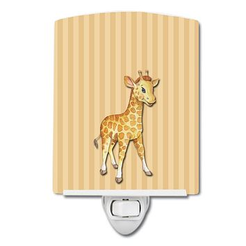 Giraffe Ceramic Night Light BB7144CNL