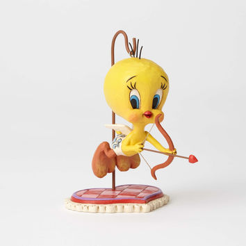 Jim Shore Looney Tunes Cupid Tweety Resin Figurine New with Box