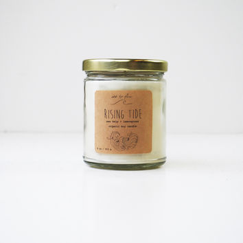 """""""Rising Tide"""" Soy Candle"""
