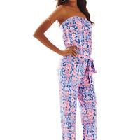 Tia Strapless Jumpsuit - Lilly Pulitzer
