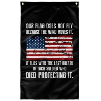 "Our Flag - Wall Flag 36""x60"""