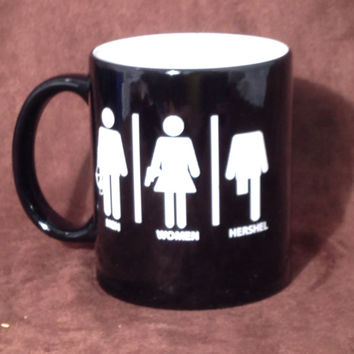 The Walking Dead Hershel Coffee Mug - woman man Hersel - engraved - Hershel cross bow