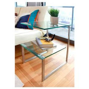 Glass 6G Side Table Clear - LumiSource