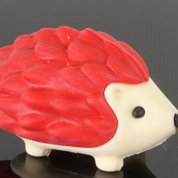Red Hedgehog Eraser Series Two