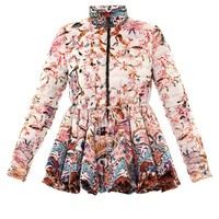 Pow blossom peplum down coat | Moncler M | MATCHESFASHION.COM