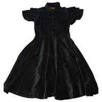 Silk dress CATHERINE MALANDRINO Black