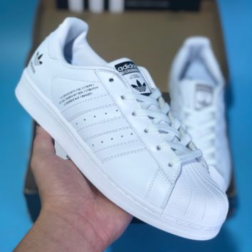 KUYOU A271 Adidas Originals By NBHD Superstar 80s Casual Skate Shoes White