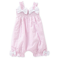 Starting Out Treasures Newborn-6 Months Gingham Romper | Dillards.com