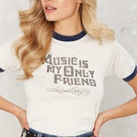 Stoned Immaculate Music is My Only Friend Tee