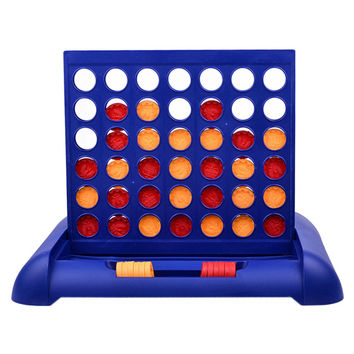 Kids Connect 4 Game Family Chess Toys Children's Educational Board Game Toy Sports Entertainment