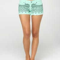 Carnivals Embroidered Shorts - Roxy