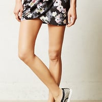Pure + Good Shadow Floral Track Skirt