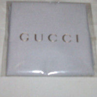 BRAND NEW GUCCI Eyeglass Polishing Cloth in bag