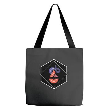 KING OF SNAKES Tote Bags