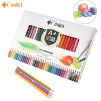 Little Fish Watercolor Pencils Colour Pencils For Drawing Lapices De Colores Prismacolor Colour Pencils For Kids Art Supplies