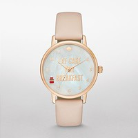 Kate Spade Brown Metro Watch