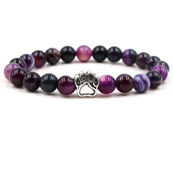 Colorful Natural Stone Beads Bracelets