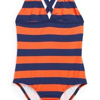 Splendid Striped One-Piece Swimsuit (Big Girls) | Nordstrom