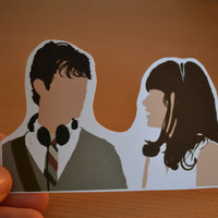 500 Days of Summer Sticker //Unique Movie Decal//