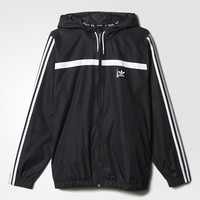 adidas Windbreaker - Black | adidas US