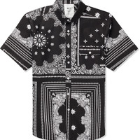 Black/White Quincy S/S Shirt