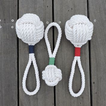 Monkey Fist Rope Dog Toy