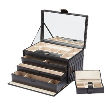WOLF Caroline Large Leather Jewelry Box | Overstock.com Shopping - The Best Deals on Jewelry Boxes
