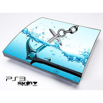 Splashing Anchor Skin for the Playstation 3