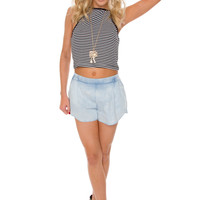 Lennox Denim Shorts
