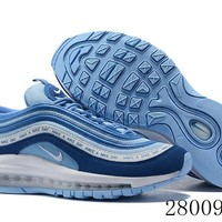 HCXX 19July 1000 Nike Air Max 97 BQ9130-400 Flyknit Breathable Running Shoes