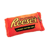 Mini Plush Reese's Peanut Butter Cup Candy Pillow | CandyWarehouse.com Online Candy Store