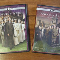 Downton Abbey Seasons 1 and 2 Each Set Contains 3 DVDS Original UK Edition
