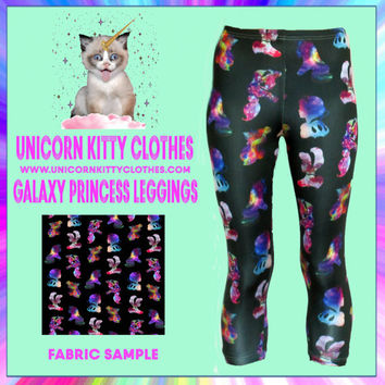 Galaxy Princess Leggings