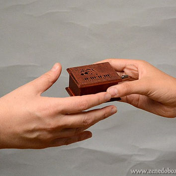 Gift for pianist piano teacher piano player music box Hungarian Raphsody Franz Ferenc Liszt