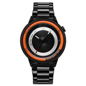 GLADIATOR FOCUS Unisex Top Camera Design Casual Fashion Sports Wristwatch